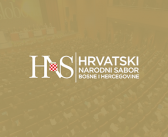 An open letter from the Main Council of the Croat National Assembly of Bosnia and Herzegovina