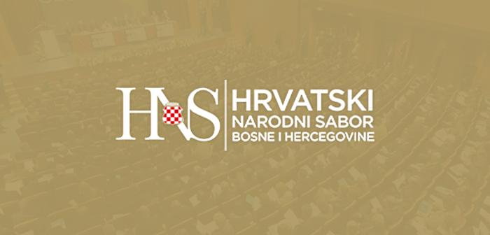 Priopćenje za javnost Hrvatskog narodnog sabora u povodu otvorenog pisma koje su trojica bivših visokih predstavnika u BiH uputila institucijama EU