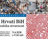 """Najava konferencije """"Hrvati BiH – demografska stvarnost"""""""